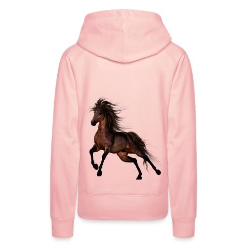 Brown Horse - Frauen Premium Hoodie