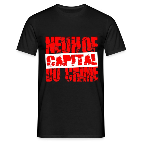 T shirt homme neuhof capital du crime - T-shirt Homme