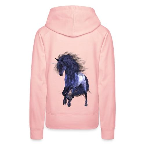 Blue Unicorn - Frauen Premium Hoodie