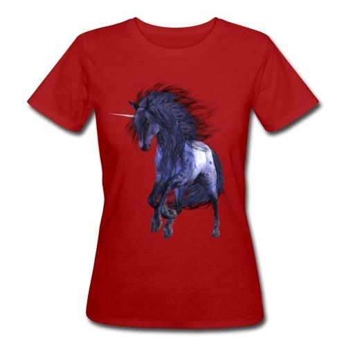 Blue Unicorn - Frauen Bio-T-Shirt