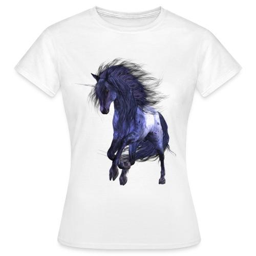 Blue Unicorn - Frauen T-Shirt