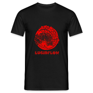 T-Shirts ~ Men's T-Shirt ~ Lucidflow Logo Red