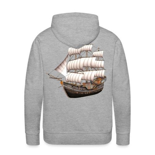 Old Sailboat - Männer Premium Hoodie