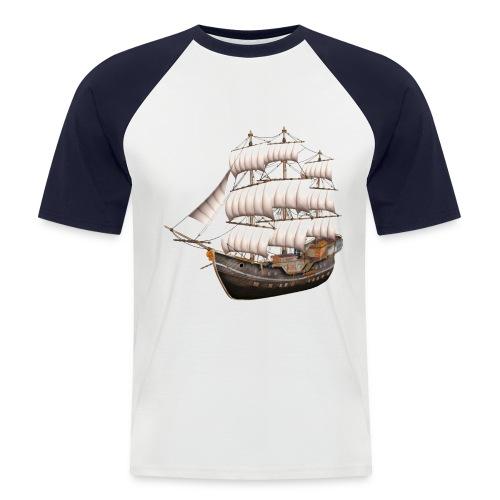 Old Sailboat - Männer Baseball-T-Shirt