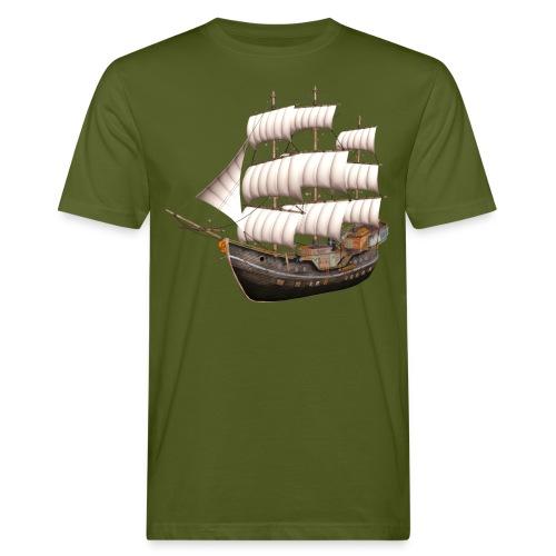Old Sailboat - Männer Bio-T-Shirt