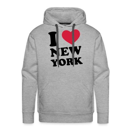 Felpa NY City - Felpa con cappuccio premium da uomo