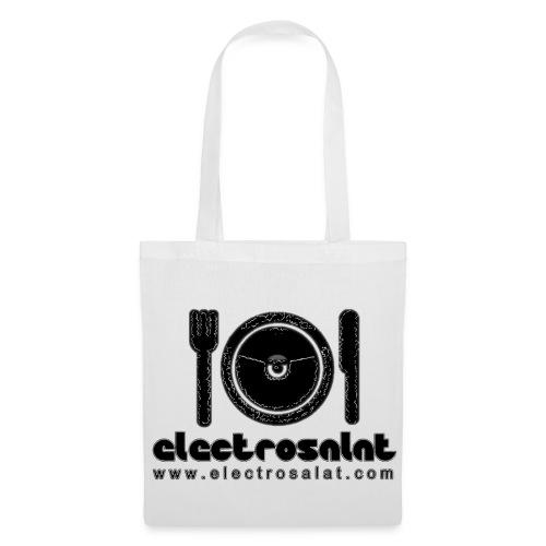 EleCtroSalat Tasche Weiß - Stoffbeutel