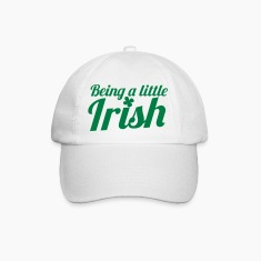 Being a little IRISH with a shamrock Caps & Hats