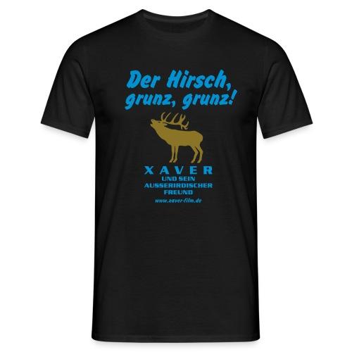 Der Hirsch, grunz, grunz! - Männer T-Shirt