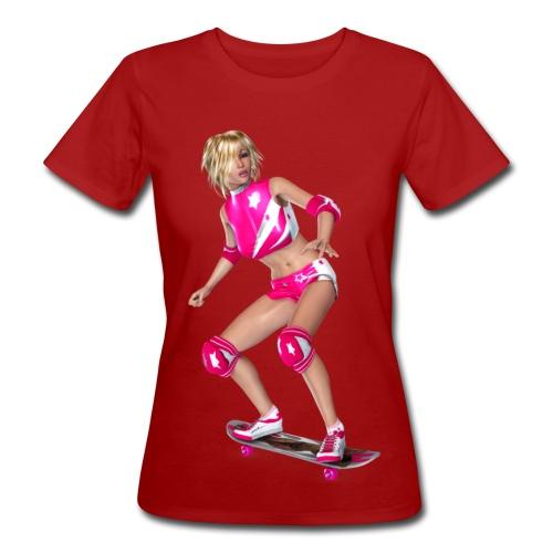 Skater Girl - Frauen Bio-T-Shirt