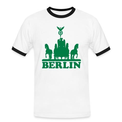 Berliner Junge - Männer Kontrast-T-Shirt