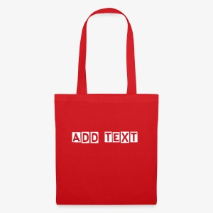 Tas actie! Tas met tekst. Bag with text.  - Tote Bag