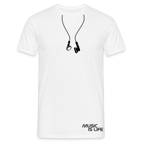Fake Headphones - Men's T-Shirt