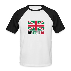 Britalia - British love of Italian exotica - Men's Baseball T-Shirt