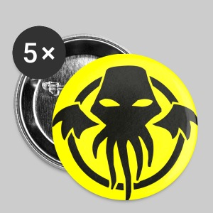 B56: Cthulhu!!! - Buttons large 56 mm
