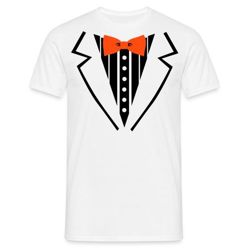 Wilhelmus strik - man  - Mannen T-shirt
