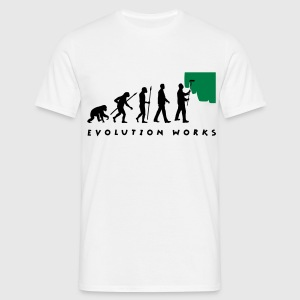 evolution_painter_042012_a_2c T-Shirts - Männer T-Shirt