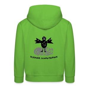 tier t-shirt kinder baby schmutzfink fink spatz dreckspatz schmutzig dreckig schmutz dreck - Kinder Premium Hoodie