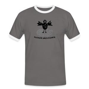 tier t-shirt kinder baby schmutzfink fink spatz dreckspatz schmutzig dreckig schmutz dreck - Männer Kontrast-T-Shirt