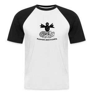 tier t-shirt kinder baby schmutzfink fink spatz dreckspatz schmutzig dreckig schmutz dreck - Männer Baseball-T-Shirt