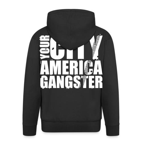 Veste à Capuche AMERICA GANGSTER - Veste à capuche Premium Homme