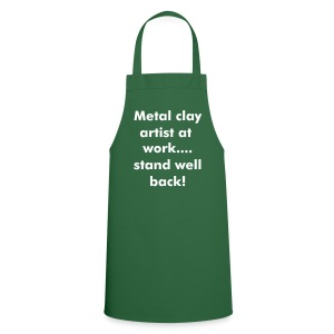 Metal Clay Artist at Work Apron - Cooking Apron