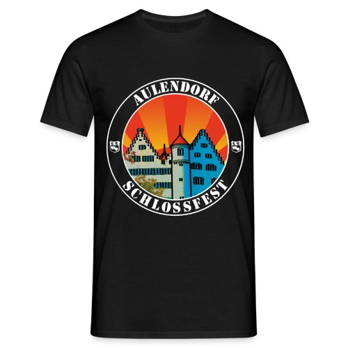 Schlossfest Shirt weiss - Männer T-Shirt