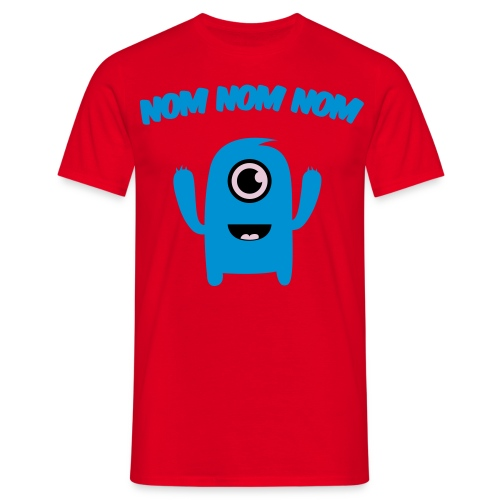Nom Nom Nom - Men's T-Shirt