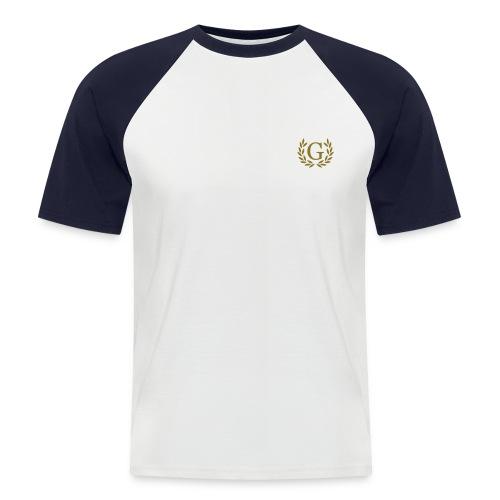 Baseball T-shirt Fresh-Label  - Mannen baseballshirt korte mouw