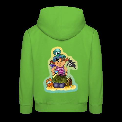 KinderShirt Ahoi, kloine Piroaadin - Kinder Premium Hoodie