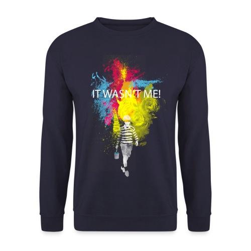 Innocence (NAVY) - Men's Sweatshirt