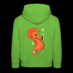 KinderShirt Seelina Seepferdchen - Kinder Premium Hoodie