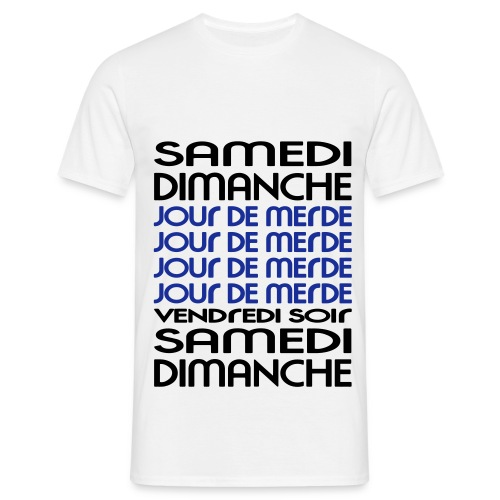 shit day  - T-shirt Homme