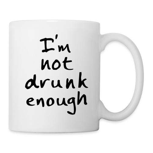Not drunk enough - Kop/krus