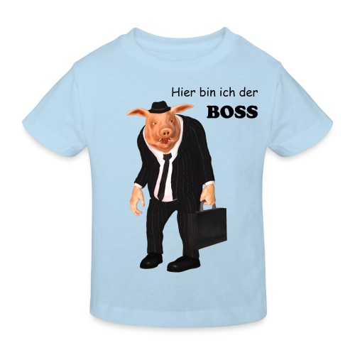 Business Pig - Kinder Bio-T-Shirt