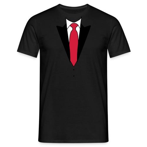 Stropdas - Mannen T-shirt