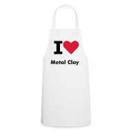 Aprons ~ Cooking Apron ~ Love Metal Clay Apron