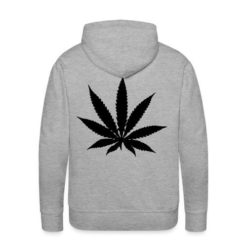 j'aime le cannabis - Sweat-shirt à capuche Premium pour hommes