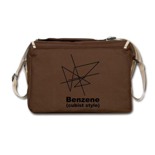 |Benzine Bubist Style Messenger Bag - Shoulder Bag