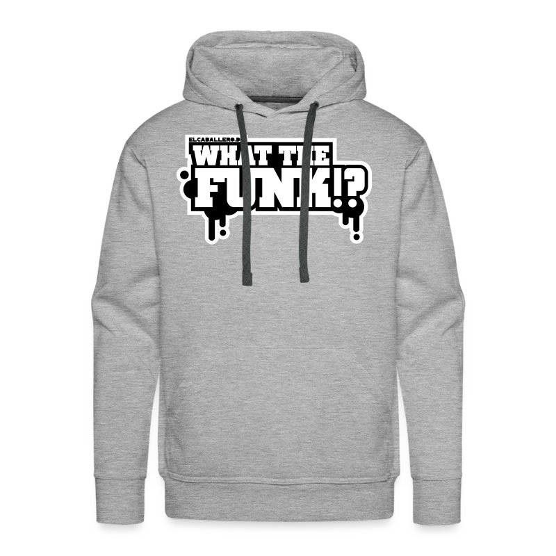 What The Funk - 2 Colored - Männer Premium Hoodie