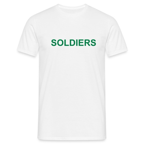 Soldiers (Green) - Men's T-Shirt