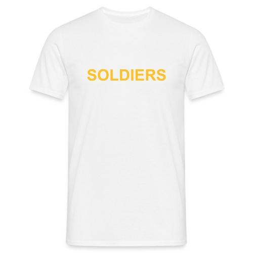 Soldiers (Yellow Gold) - Men's T-Shirt