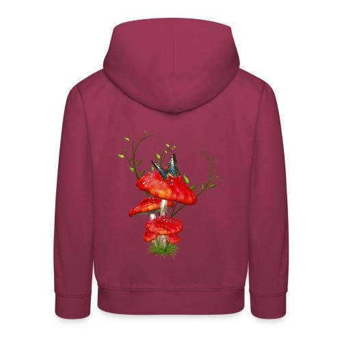 Toadstools - Kinder Premium Hoodie