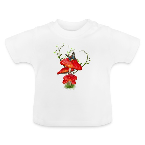 Toadstools - Baby T-Shirt