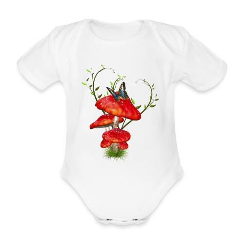 Toadstools - Baby Bio-Kurzarm-Body