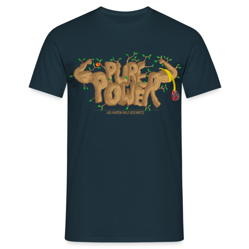 Pure Power - Männer T-Shirt