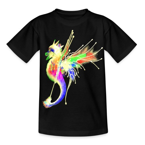 Colorful Dragon - Teenager T-Shirt