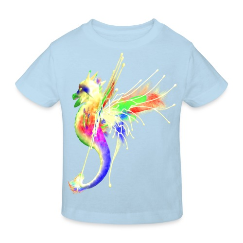 Colorful Dragon - Kinder Bio-T-Shirt