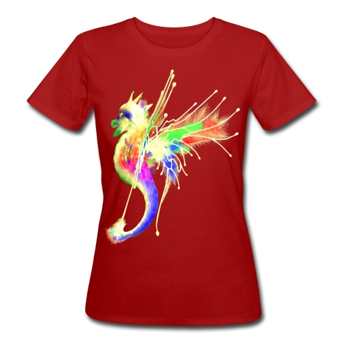 Colorful Dragon - Frauen Bio-T-Shirt