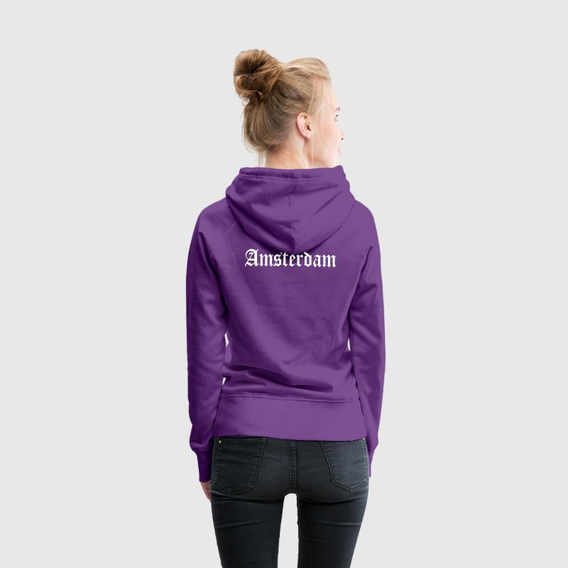 Amsterdam Sweat-shirts - Sweat-shirt à capuche Premium pour femmes